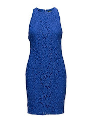 Scalloped Lace Dress - COSTA BLUE