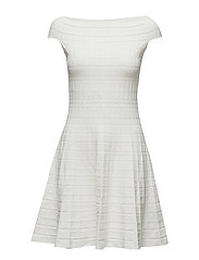 Fit-and-Flare Dress - LAUREN WHITE
