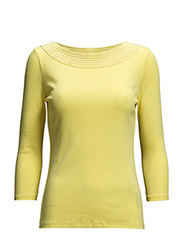 RAELIANNA - 3/4 SLV BALLETNECK - CANARY YELLOW