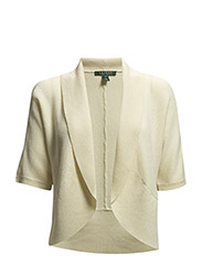 TELANA - ELBOW SLV SHRUG - MODERN CREAM