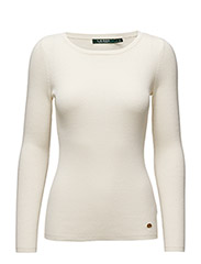 LEORAH - L/S RELAXED CN - ANTIQUE IVORY