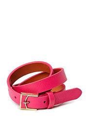 7/8\ LEATHER BELT WITH LEATHER