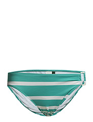 KAYLEE STRIPE - RING SIDE HIPSTER - LAGOON