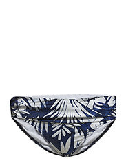 BATIK LEAF - SHIRRED BAND HIPSTER - INDIGO