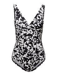 Floral Scoop-Back One-Piece