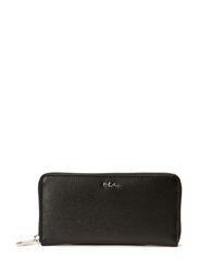 Tate Zip Wallet - BLACK/BLACK