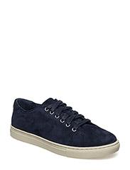 Waverly Suede Low-Top Sneaker - MODERN NAVY