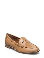 Barrett Patent Leather Loafer - CAMEL