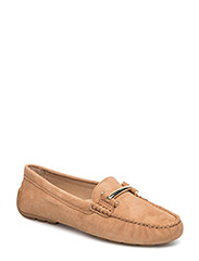 Suede Caliana Loafer - LIGHT CUOIO