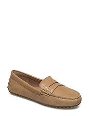 Belen Leather Loafer - CAMEL