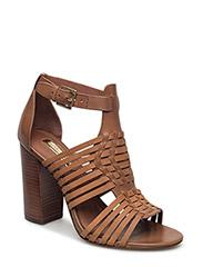 Harietta Leather Sandal - POLO TAN