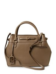 BELTED SATCHEL - TAUPE