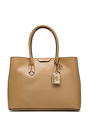 Leather Tate City Tote - PALOMINO