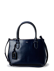 DOUBLE ZIPPER SHOPPER - NAVY