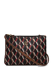 Nylon Tara Crossbody Bag - GEO PRINT
