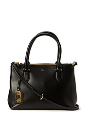 Newbury Double-Zip Shopper - BLACK(GOLD)