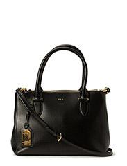 Newbury Double-Zip Shopper - BLACK(GOLD)