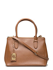 NEWBURY  DOUBLE ZIPPER SHOPPER - LAUREN TAN