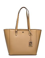 Saffiano Leather Halee Tote - PALOMINO
