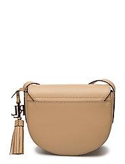 Leather Mini Caley Saddle Bag