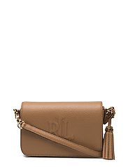 Carmen Leather Crossbody Bag - CARAMEL