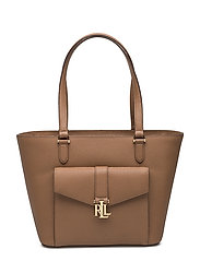 Evonne Leather Shopper - FIELD BROWN