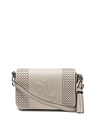Leather Carmen Crossbody Bag - BEIGE