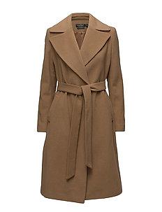Wool Blend Coat - VICUNA