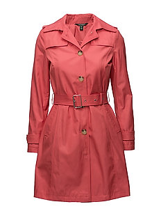 COTTON/POLYESTER-SYNTHETIC COAT - CHERRY BLOSSOM