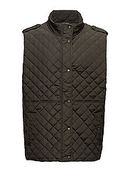 Quilted Vest - DK MOSS