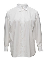 Stretch Broadcloth Shirt - WHITE