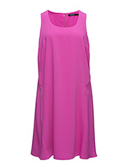 LIPLEY - S/L DRESS - EXOTIC PINK