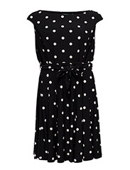 PRISCA - OTHER DRESS - BLACK/COLONIAL