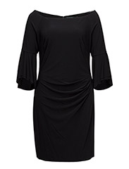 SPENCER - LONG SLEEVE DRESS - BLACK