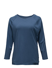 GALEN - L/S TOP - POETRY BLUE