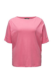 COTTON BOATNECK TOP - PEACE ROSE