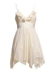 DRESS SLEEVELESS - WHITE