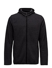 Fleece Jacket - CHARCOAL