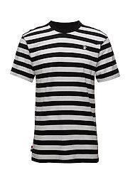 Stripe Tee - BLACK/WHITE