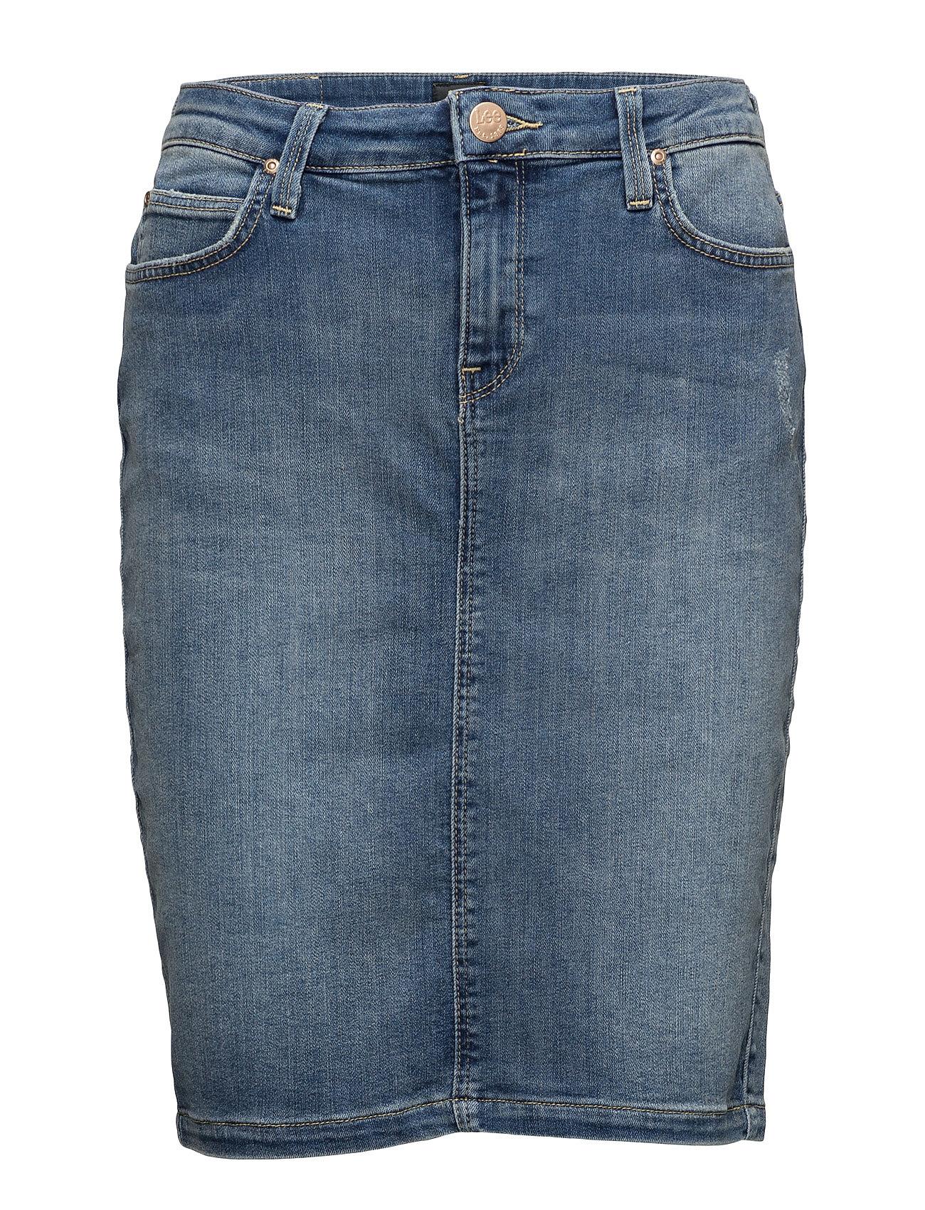 Pencil Skirt Lt Urban Indigo Lee Jeans Skirts thumbnail