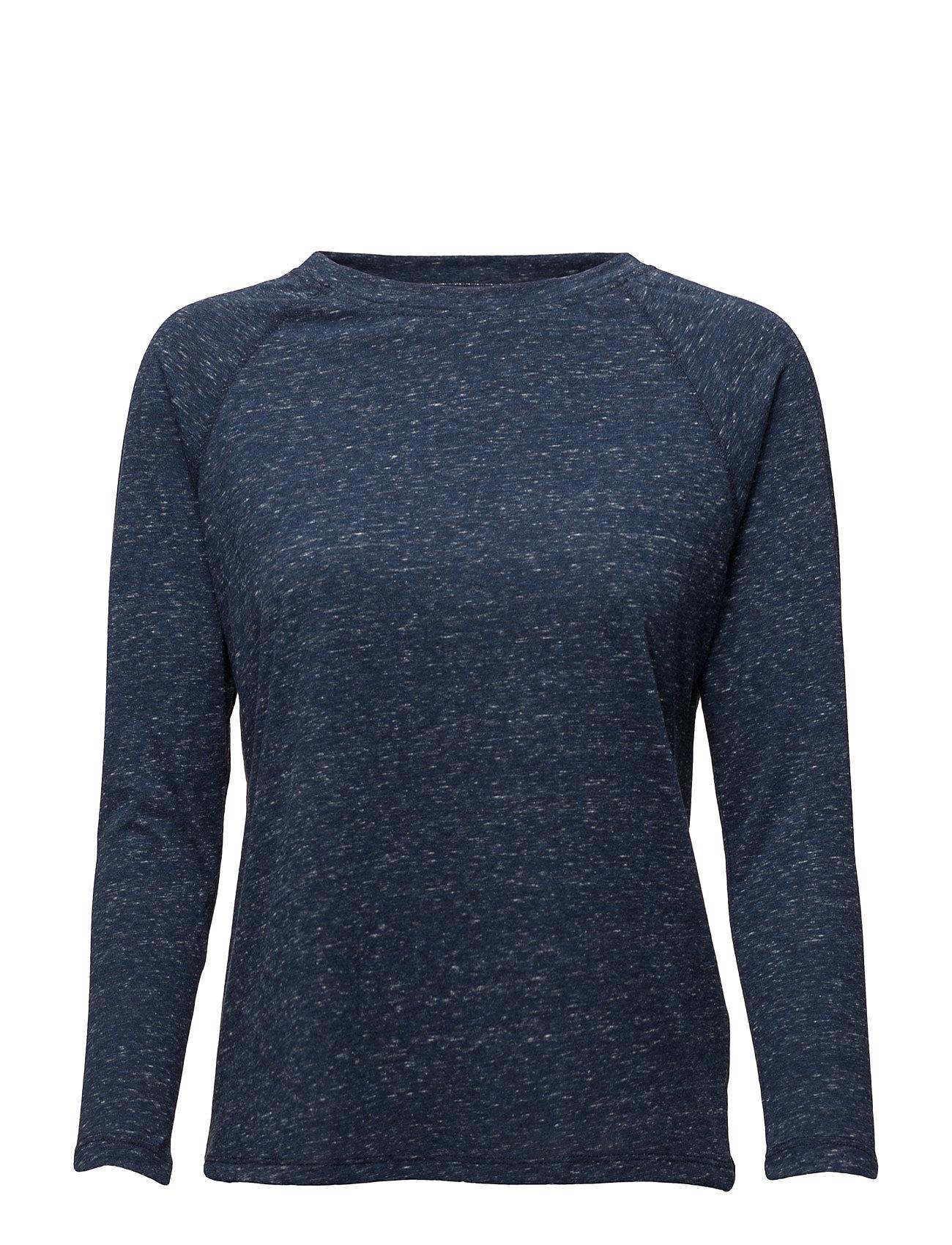 3/4 Sleeve Plain Tee Medieval Blue Lee Jeans  til Damer i