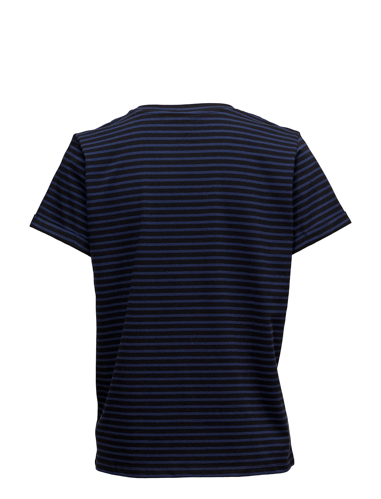 Striped Love Tee Black Lee Jeans Kortærmede til Damer i Sort