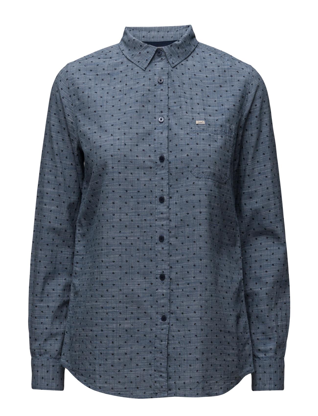One Pocket Shirt Lee Jeans Langærmede til Kvinder i