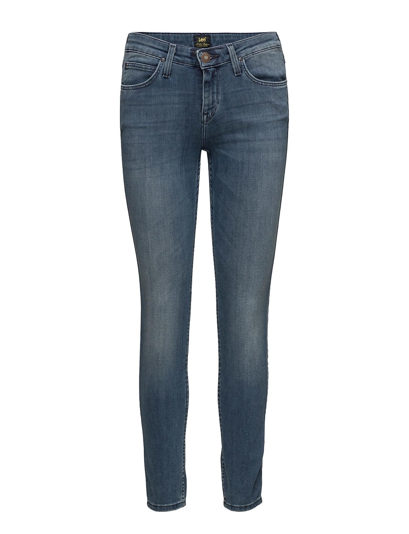 Scarlett Nightfall Blue Lee Jeans Skinny til Damer i