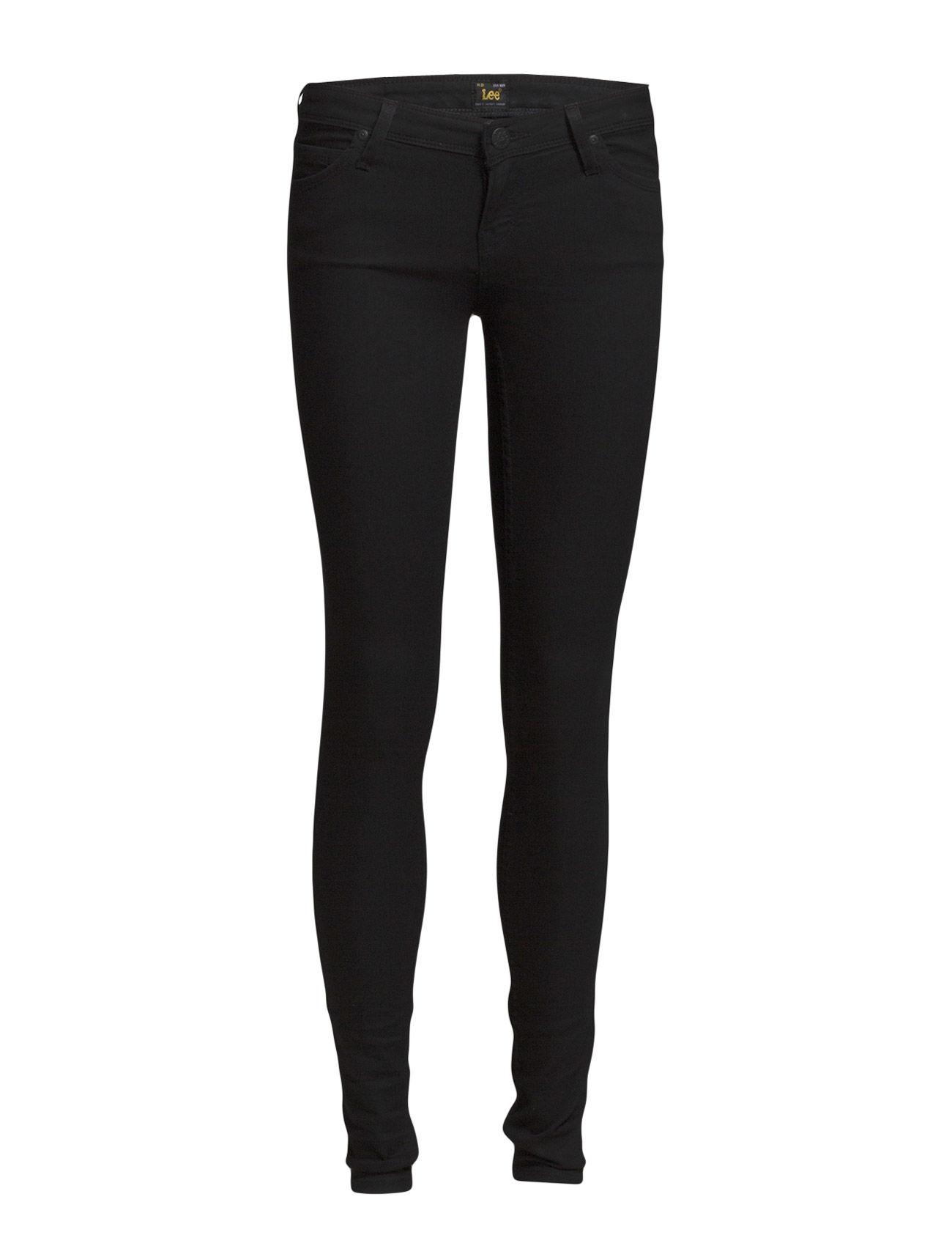 Toxey Black Rinse Lee Jeans Skinny til Damer i