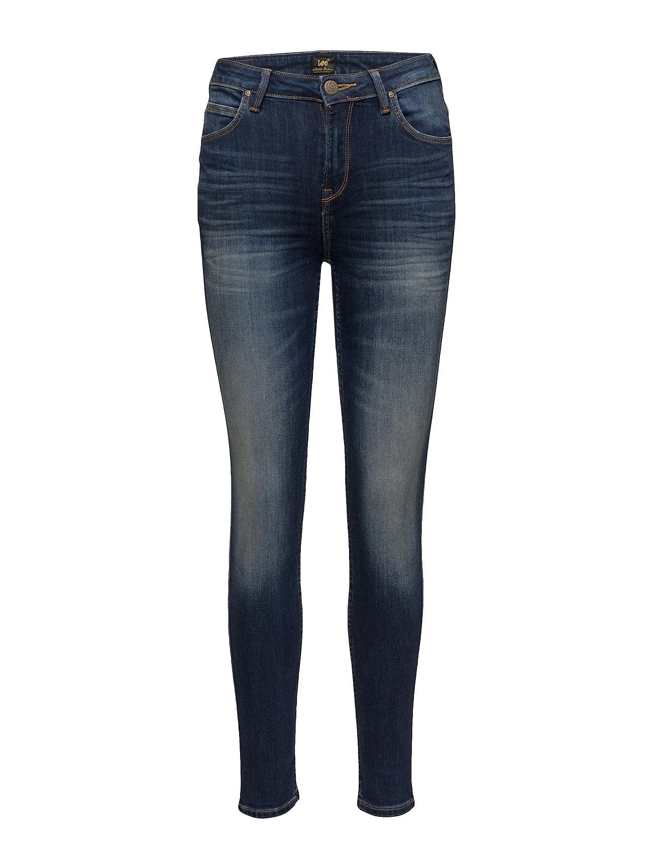 Jodee Blue Indigo Lee Jeans Jeans til Kvinder i Blå Indigo