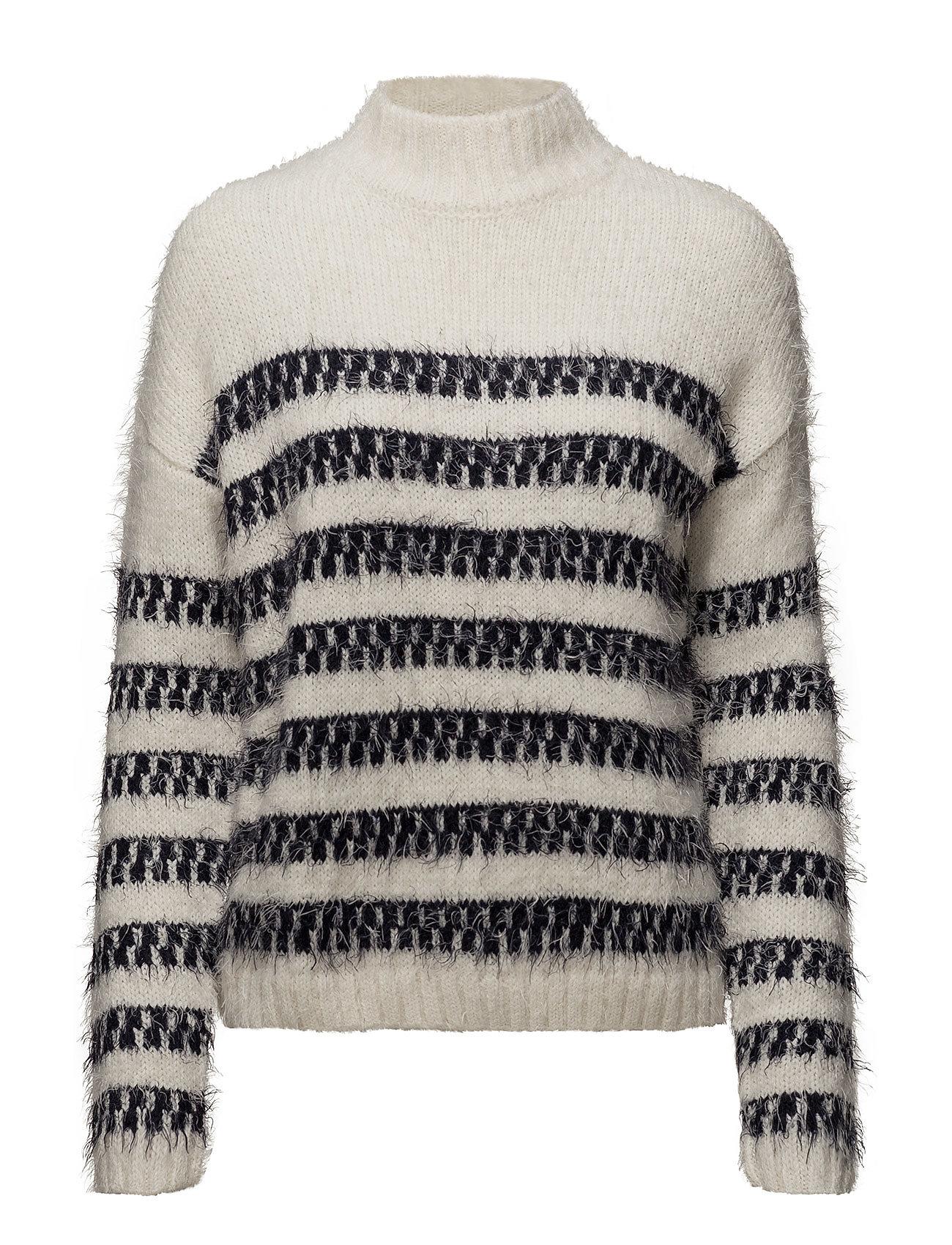 Relaxed Striped Knit Jet Stream Lee Jeans Højhalsede til Damer i