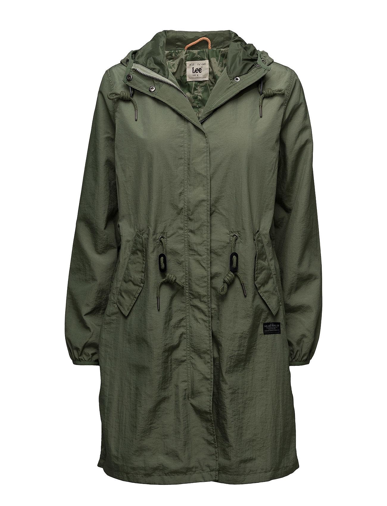 Rain Jacket Military Green Lee Jeans Frakker til Damer i