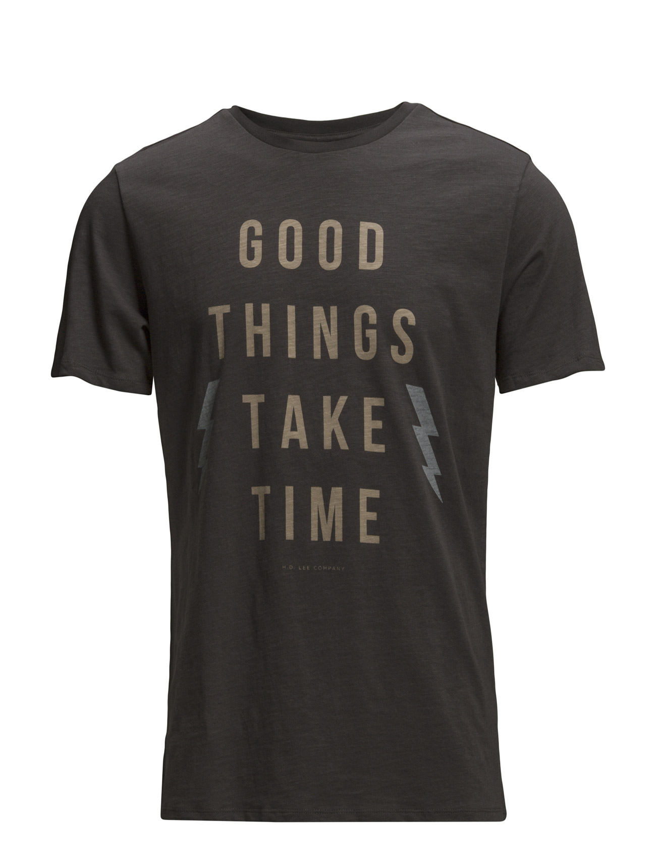 Good Things Tee Washed Black