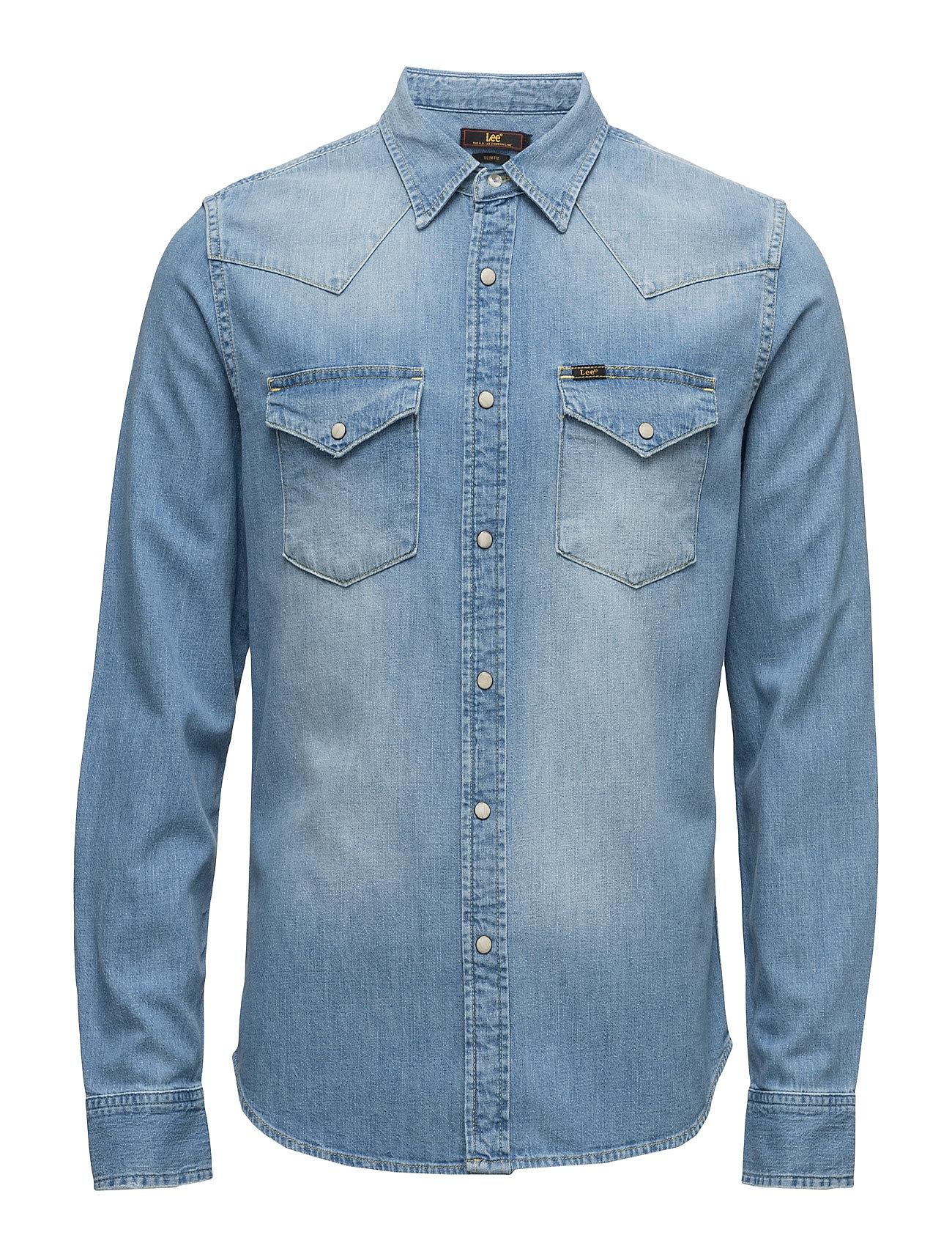 Lee Western Shirt Sun Fade Damage Lee Jeans Casual sko til Herrer i